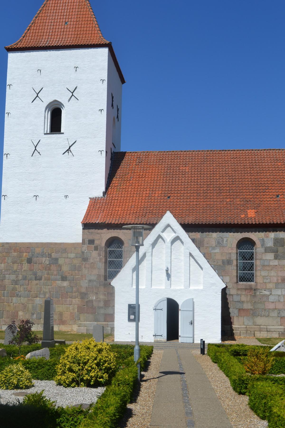 Sahl Kirke træværk
